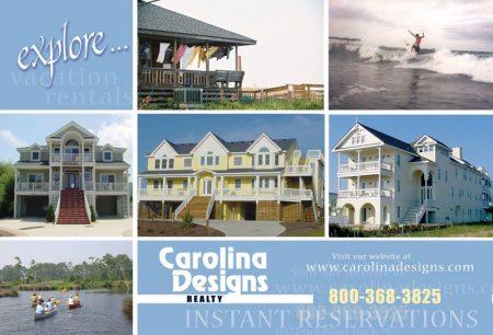 Carolina Designs General Info Postcard