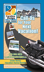 Carolina Designs 2008 Bike Week Ad