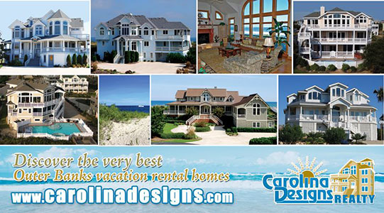 Carolina Designs Realty Postcard