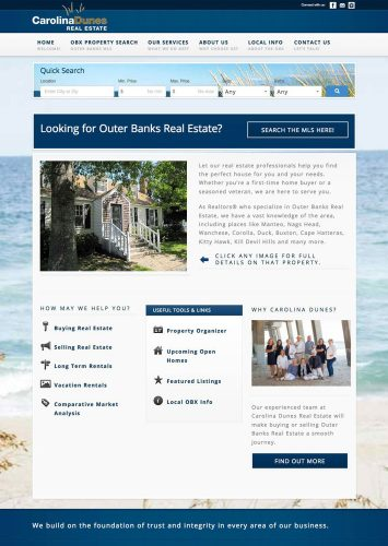 Carolina Dunes Real Estate MLS Real Estate Website