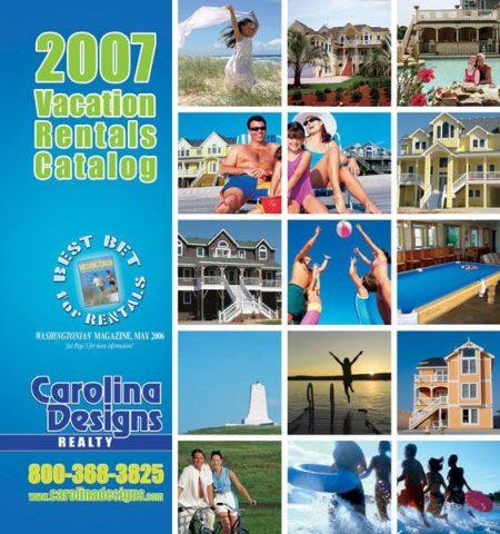 Carolina Designs 2007 Vacation Rental Catalog