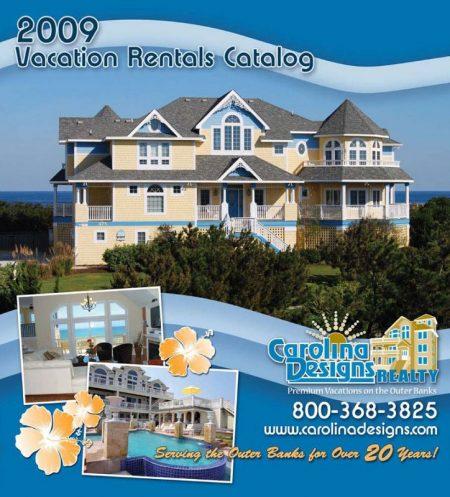 Carolina Designs 2009 Vacation Rental Catalog