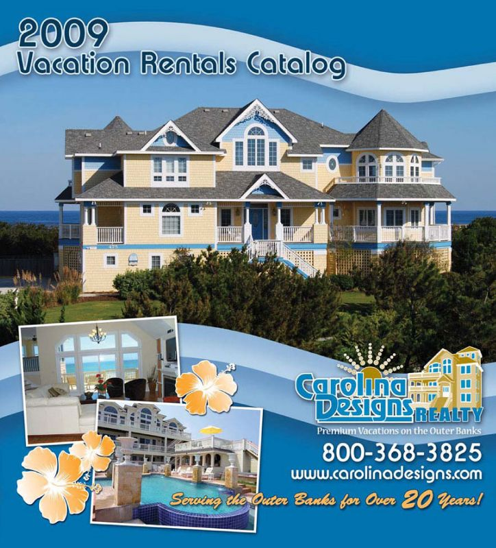 Carolina Designs 2009 Vacation Rental Catalog