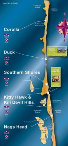 Carolina Design Rental Catalog Maps