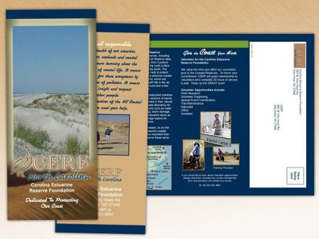 Carolina Estuarine Reserve Foundation Trifold Brochure