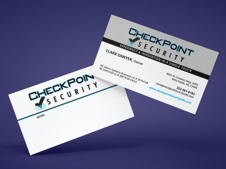 CheckPoint Security Business Card