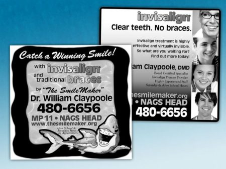 Dr. Claypoole Newspaper Ads
