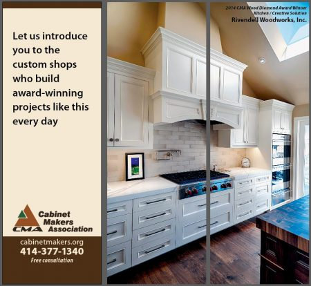 Cabinet Makers Association Trade Show Display