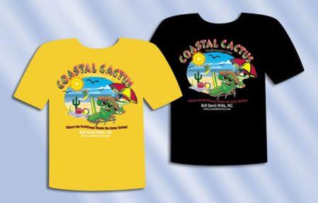 Coastal Cactus T-Shirt