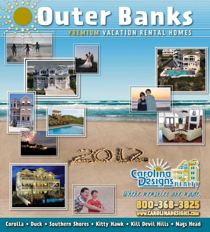 Carolina Designs 2012 Vacation Rental Catalog