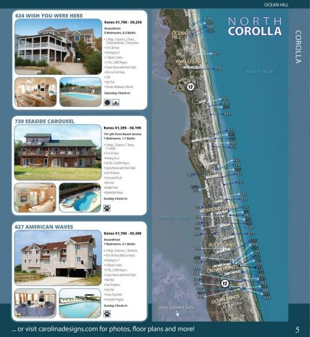 vacation home rental catalog
