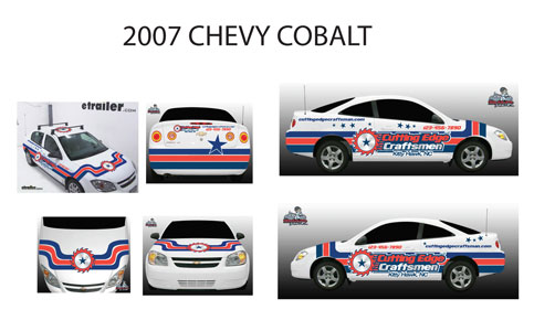 Cutting Edge Craftsman Car Graphics