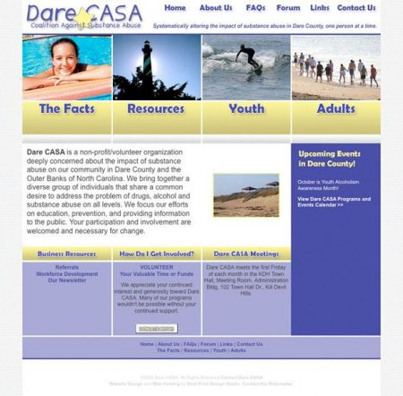 Dare CASA Website