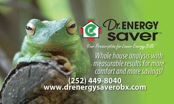 Dr. Energy Saver Business Card Magnet