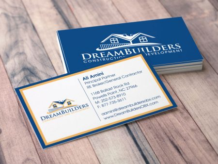 Dream Builders Business Card