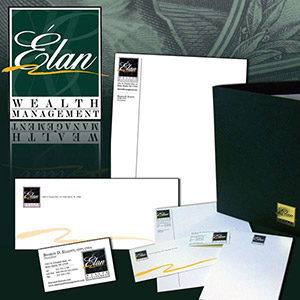 Elan Wealth Management Stationery