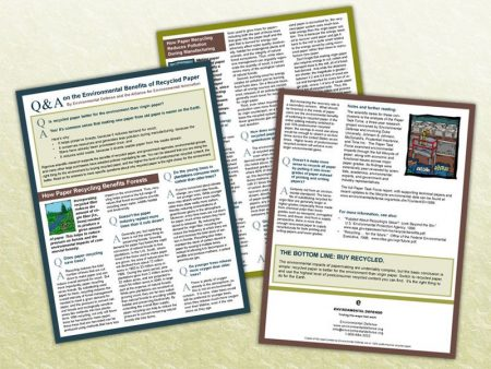 Environmental Defense Q&A Brochure