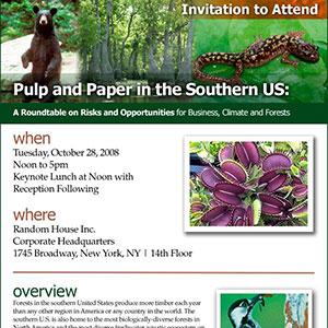 Environmental Paper Network Email Newsletter