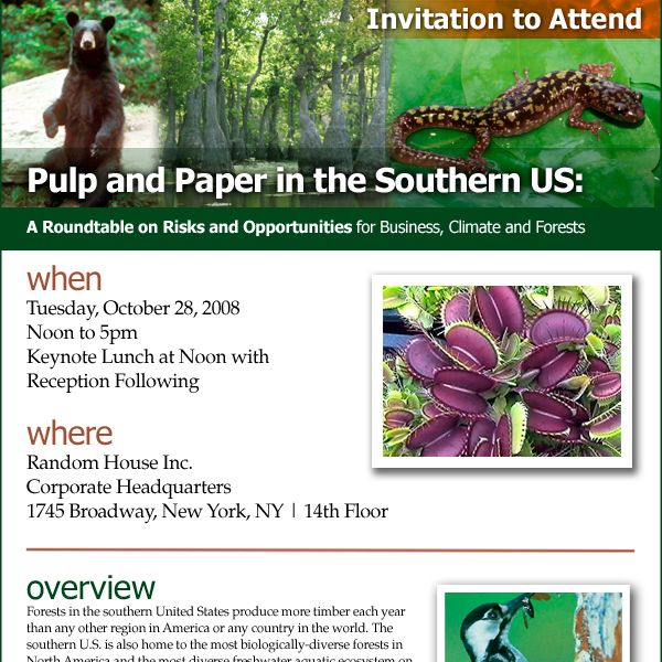 Environmental Paper Network Email Newsletters