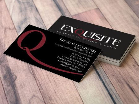Exquisite Craftsman Business Card