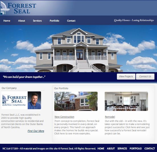 Forrest Seal Website