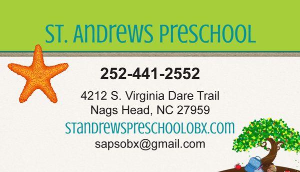 St. Andrews Preschool Stationery