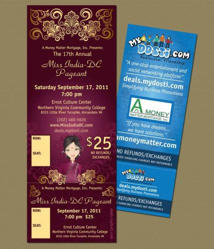 My Dosti Pageant Tickets