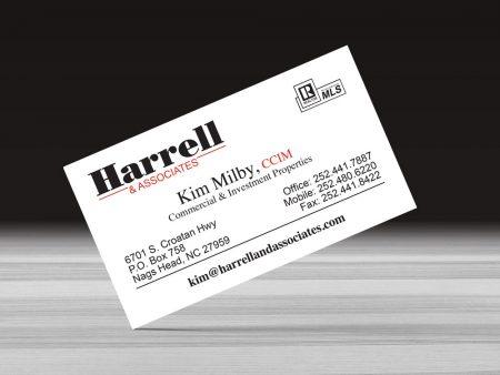 Harrell and Associates Business Card