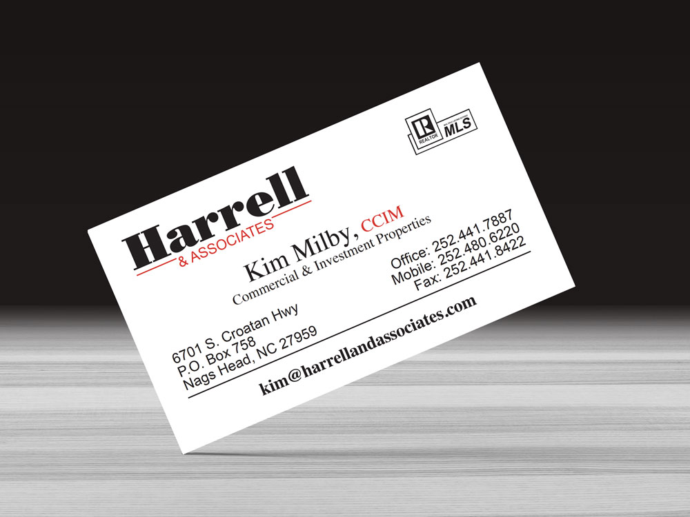 Harrell and Associates Business Card