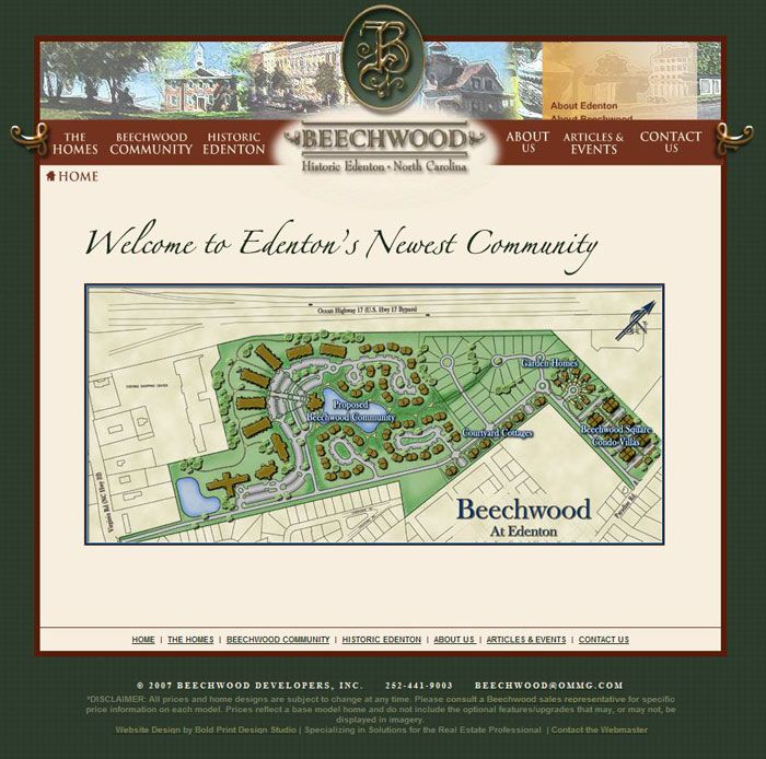 Beechwood Community Website