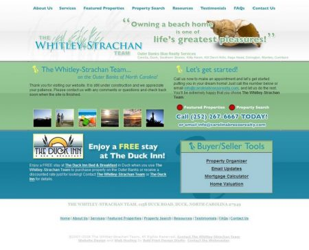 The Whitley-Strachan Team MLS Real Estate Website