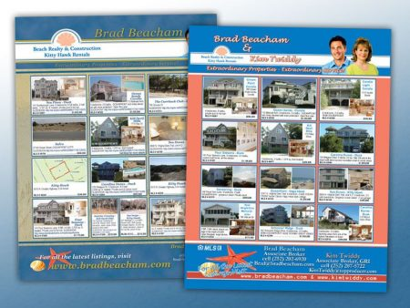 Beach Realty & Construction Magazine Ad