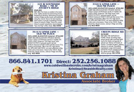 Kristin Graham Real Estate Agent Ad