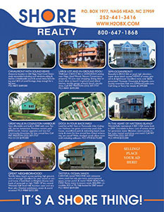 Shore Realty Ad