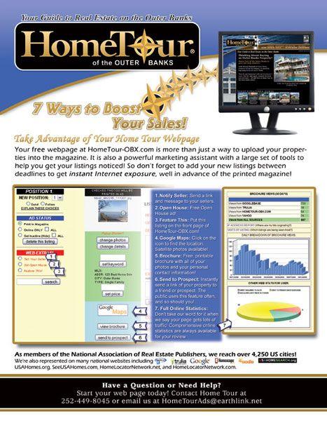 Home Tour Website Flyer