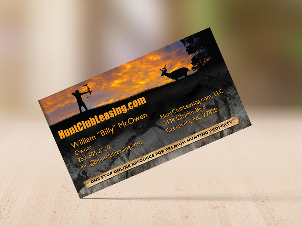 Hunt Club Leasing Business Card