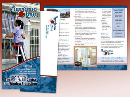Hurricane Lane Trifold Brochure
