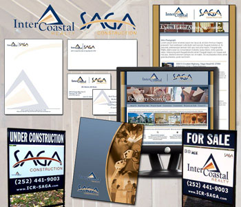 Intercoastal Realty & SAGA Construction Branding