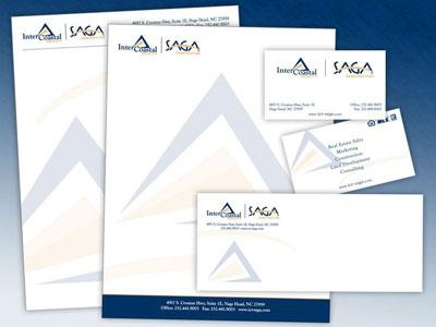 InterCoastal Realty / SAGA Construction Stationery