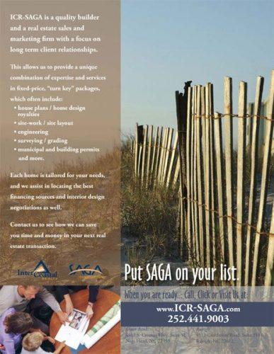 Intercoastal Realty & SAGA Construction Sales Sheets