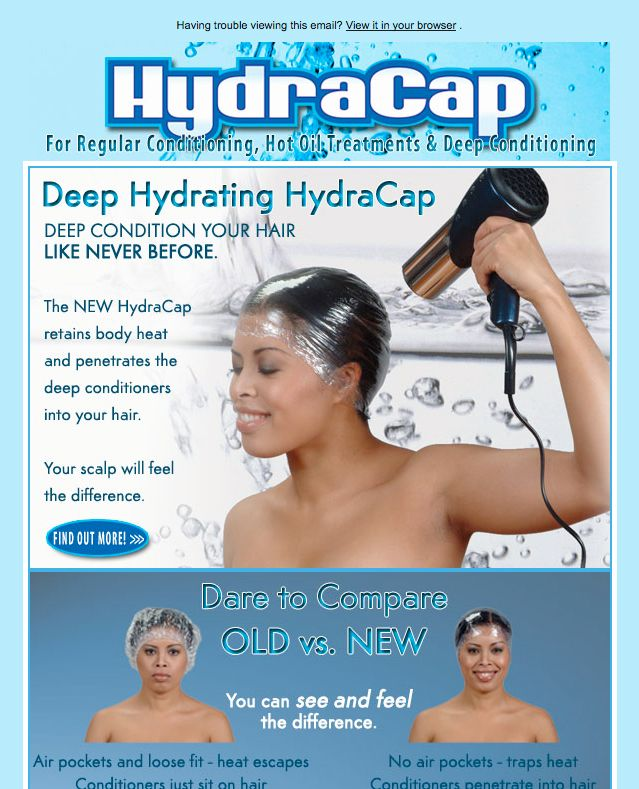 JLS HydraCap Email Campaign