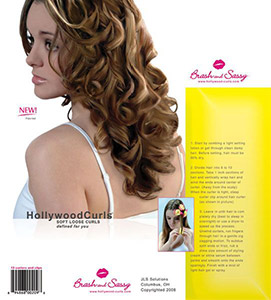 JLS Solutions Hollywood Curls Packaging