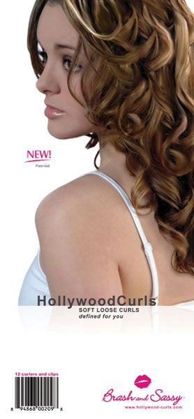 Hollywood Curls Packaging Front