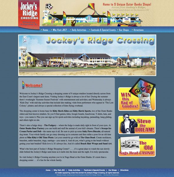 Jockey's Ridge Crossing Website