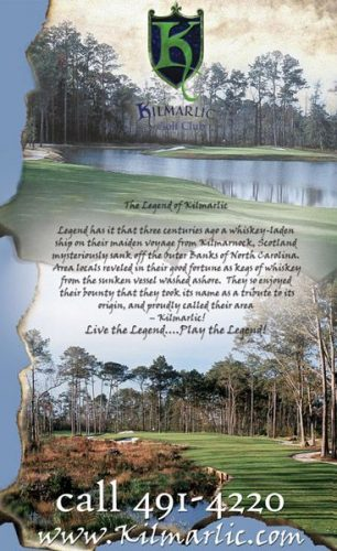 Kilmarlic Golf Ads