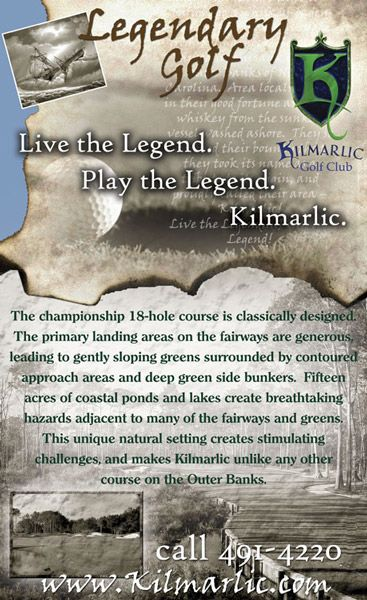 Kilmarlic Golf Ad