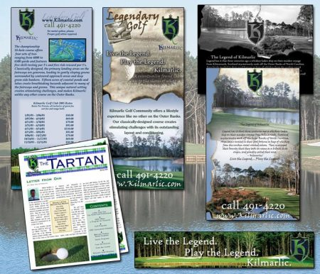 Kilmarlic Golf Branding and Advertising
