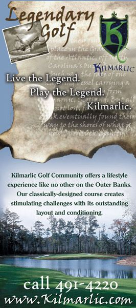 Kilmarlic Golf Rack Card
