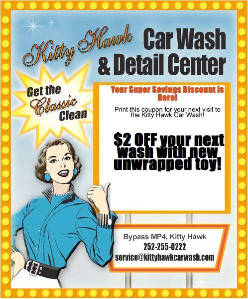 Kitty Hawk Car Wash Email Campaign