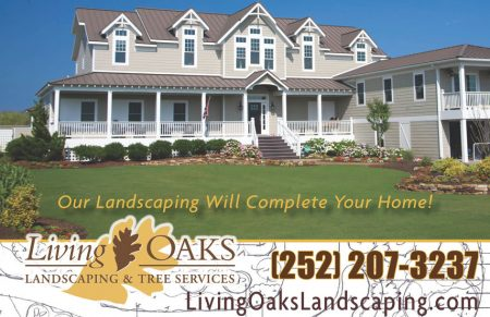 Living Oaks Landscaping Parade of Homes Ad
